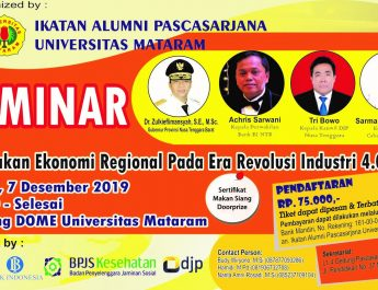 """Seminar """"Kebijakan Ekonomi Regional pada Era Revolusi Industri 4.0"""""""